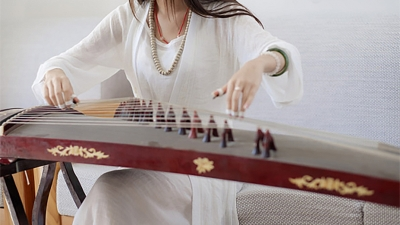 Flower x Guzheng Performance
