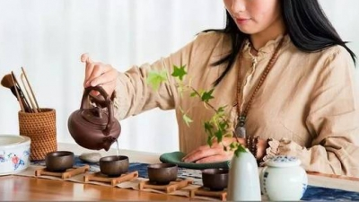 Flower x Chinese Tea Ceremony