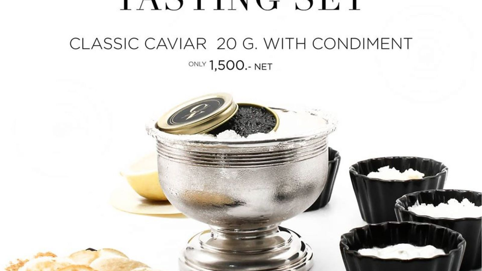 Caviar Tasting Set Delivery